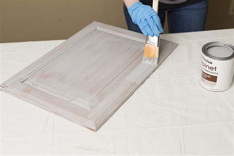 best brush for painting wood cabinets get the look of new kitchen cabinets the easy way