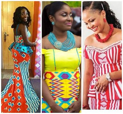 kente styles for occasion latest kente styles that will definitely be trendy this