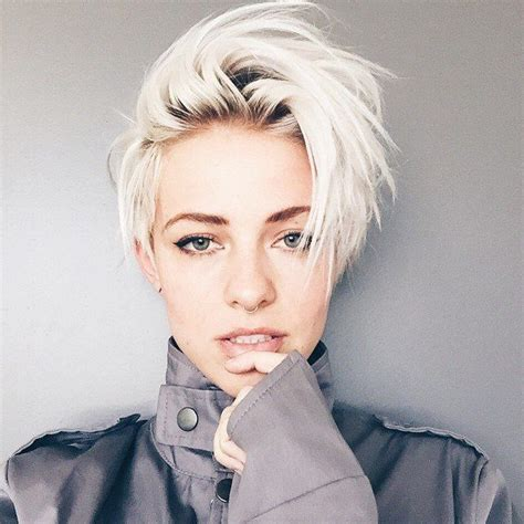 platinum hair color and cuts for over 50 women pictures 25 best ideas about platinum blonde pixie on pinterest
