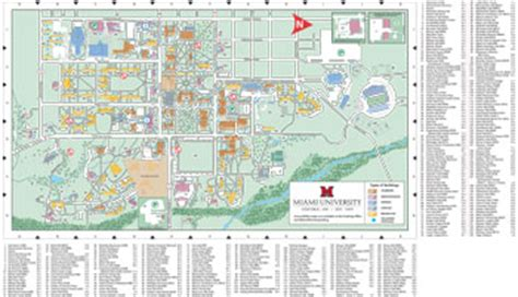 map of miami oxford miami ohio map afputra