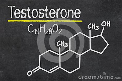 testosterone the molecule power and the will to win books chemical formula of testosterone stock illustration