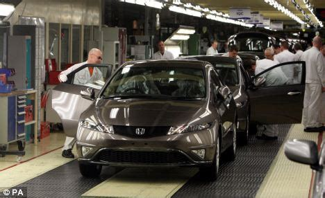 Honda Uk Factory Boost For Honda Factory As Car Maker