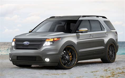 2011 Ford Explorer by 2011 Ford Explorer By Stitchcraft Interiors Front Three