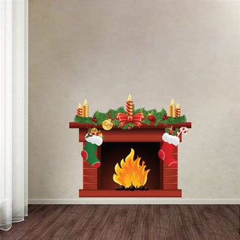wall stickers murals fireplace wall decal mural living room wall