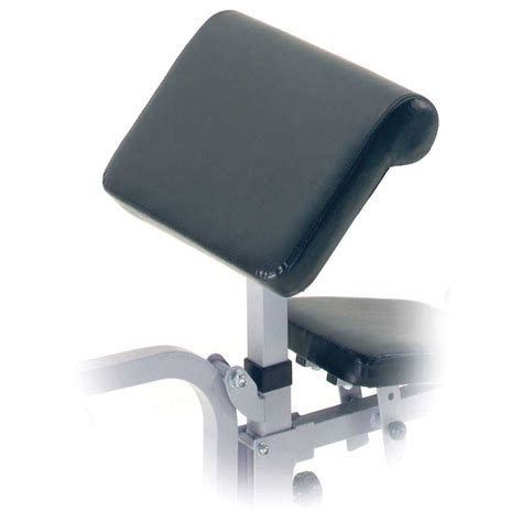 york preacher curl bench york curl attachment for bench 530 and 540