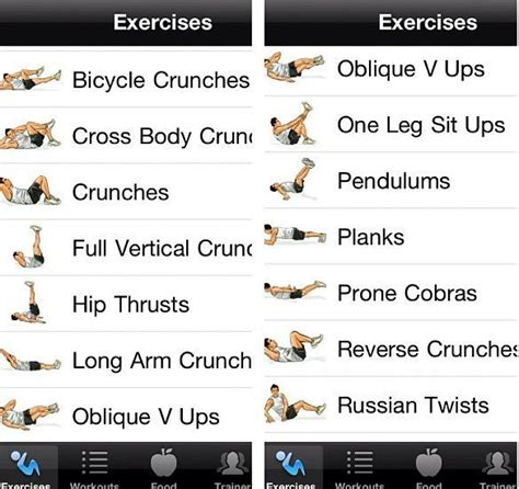 abdominal exercises exercises workout