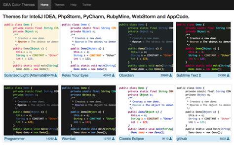 phpstorm themes jar idea color themes jetbrains製ideの超大量カラーテーマコレクション ソフトアンテナブログ
