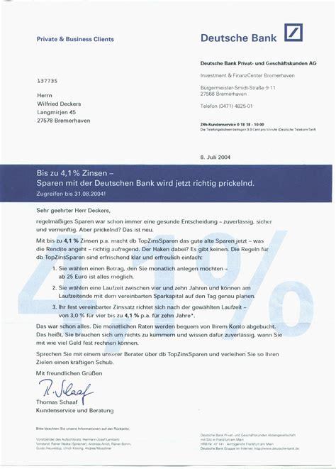 deutsche bank brief die deutsche amalgam page adressenhandel 2 http www