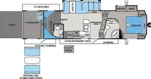 Toy Hauler Travel Trailer Floor Plans by Jayco Toy Hauler Floorplans Jims Rv Center