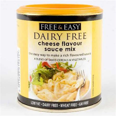 dairy free pasta sauce brands cheese sauce in 130g from free and easy