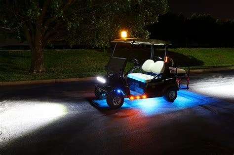 Led Golf Cart Lighting Kit Multi Remote Activated