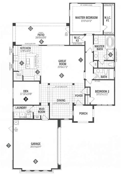 mattamy floor plans mattamy homes outlook floor plan dove mountain