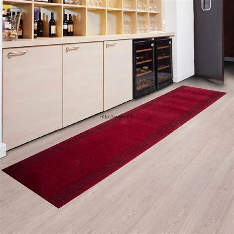 tapis de couloir cuisine tapis pas cher