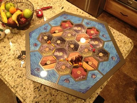 diy settlers of catan table diy activities