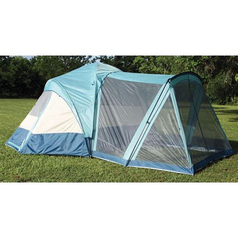 Tents With Porches texsport 174 meadow screen porch 8 person tent