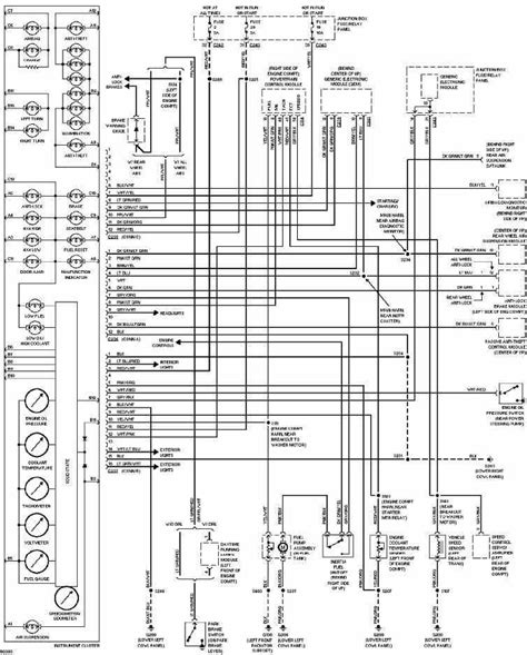 electric power steering 1997 ford thunderbird instrument cluster instrument cluster wiring diagram of 1997 ford f150 circuit wiring diagrams
