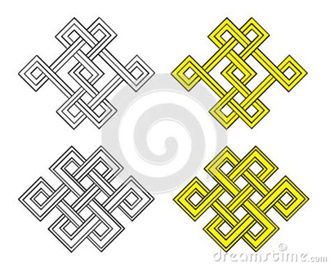 pattern same meaning auspicious knot royalty free stock image image 34841166
