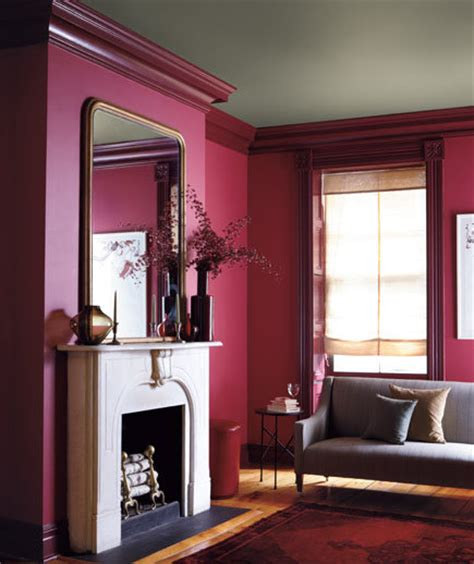 berry putty burgundy color combinations for your home