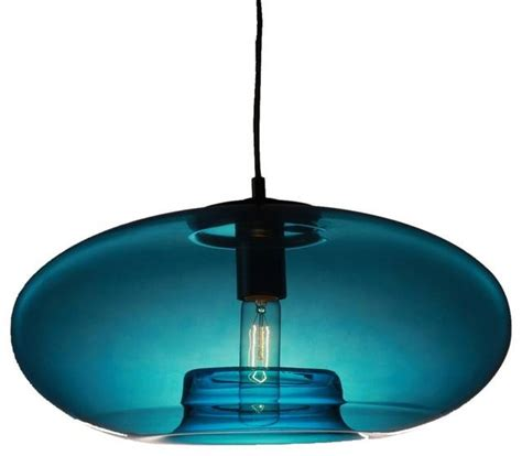 blue glass pendant light 15 photo of turquoise glass pendant lights