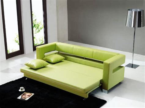 sofa cum bed reviews green color leather sectional sleeper sofa cum bed at