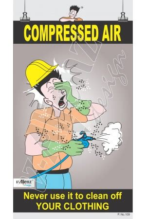 compressed air safety posters pictures to pin on thepinsta