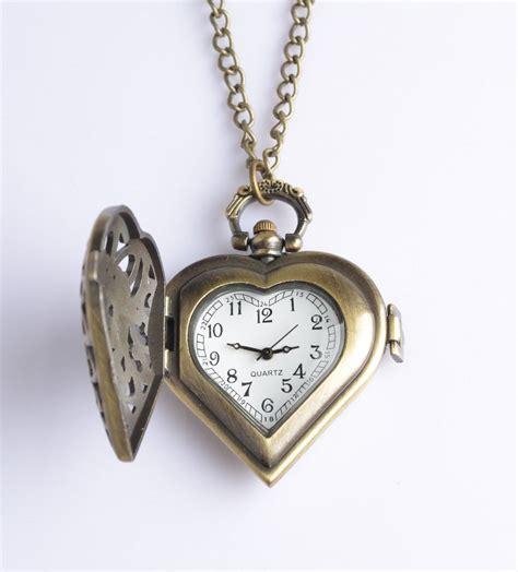 Pocket Necklace bronze steunk style pocket necklace