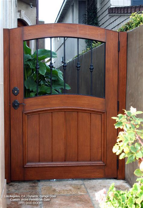 Handcrafted Doors - handcrafted wooden architectural pedestrain gates