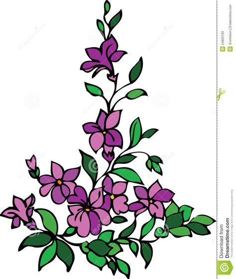 design flower purple floral design purple lilac stock photos image 24802193