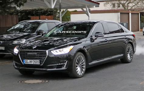 new genesis sedan new genesis g90 sedan to get a maybach style