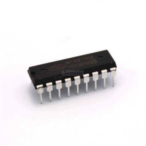 8870 Dtmf Receiver Ic 2 49 mt8870 dtmf decoder receiver tinkersphere