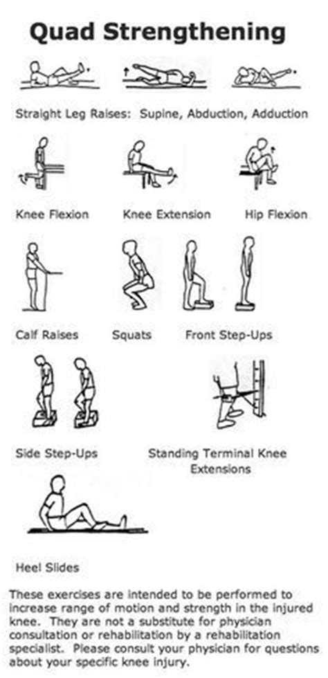 strengthening exercises for bad knees workout