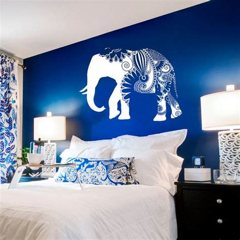 elephant themed bedroom 24 interior designs with vinyl stickers messagenote