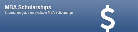 Part Time Mba Scholarships Usa by Mba Scholarships Information Guide On Available Mba