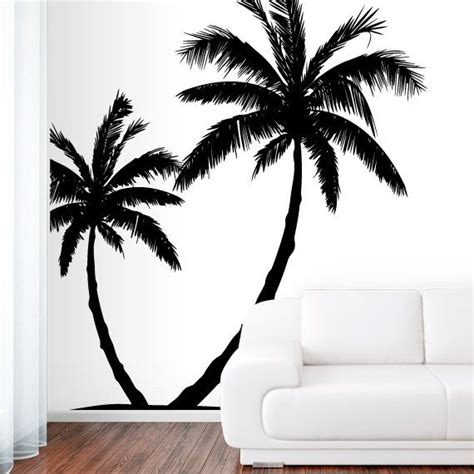 palm tree decor for bedroom wall decal vinyl sticker decals art decor design couple