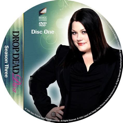 drop dead season drop dead season 3 disc 1 custom dvd labels drop