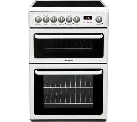 Electric Cooker buy hotpoint hae60ps electric ceramic cooker white