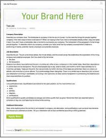 how to write a advertisement template ads that work how to write a posting