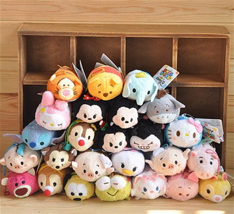 Keychain Boneka Cat Original Disney disney tsum tsums collection plush toys for mobile