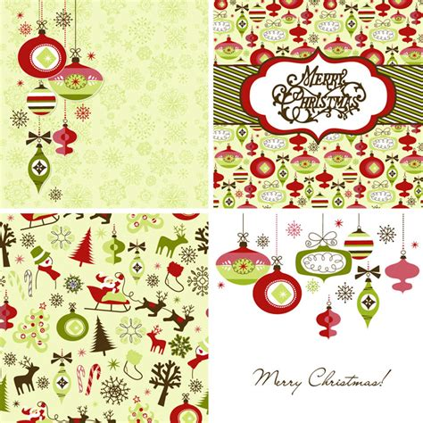 vintage style cards 3 free vector graphic