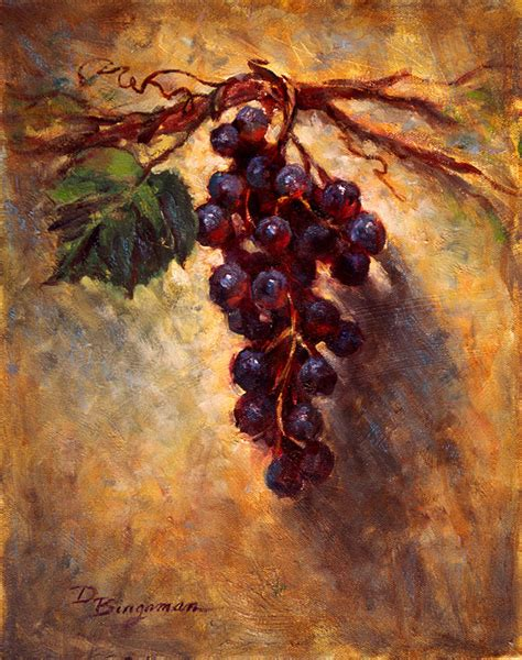 the grape vine painting by donna bingaman the grape vine prints and posters for sale