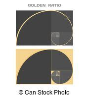 golden ratio business card template proportion clip vector graphics 47