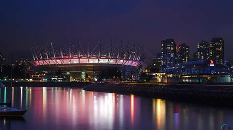3d wallpaper vancouver download wallpaper stadium bc place in vancouver 1920 x