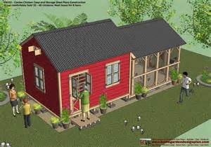 Playhouse Shed Plans home garden plans cb210 combo plans chicken coop