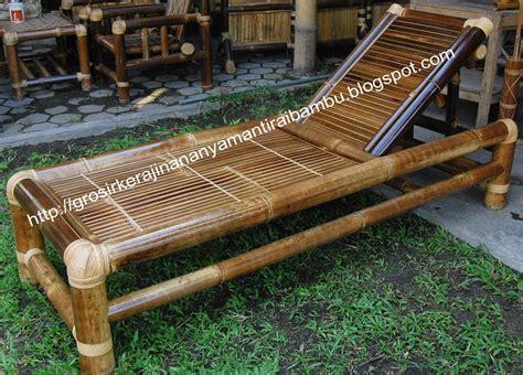 Kursi Bambu Di Karawang jual kursi malas jual kerajinan bambu kerajinan bambu