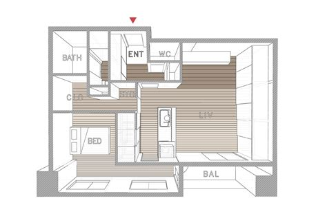 japanese apartment layout opera a small apartment from tokyo by taka shinomoto