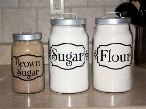 canisters extraordinary flour sugar canisters kitchen