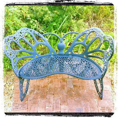 butterfly bench garden 28 best images about butterfly garden on pinterest