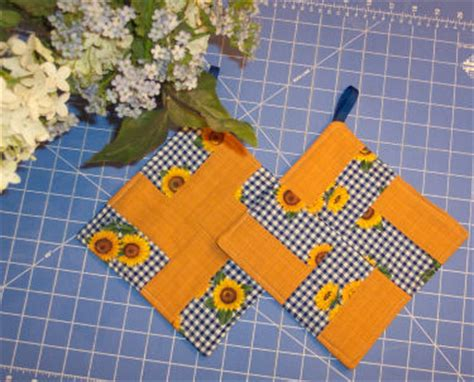 How To Make Quilted Potholders by Quilted Potholder Patterns 171 Free Patterns