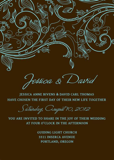 Wedding Invitation Templates Photoshop by Wedding Invitation Template Set Photoshop By Scripturewallart