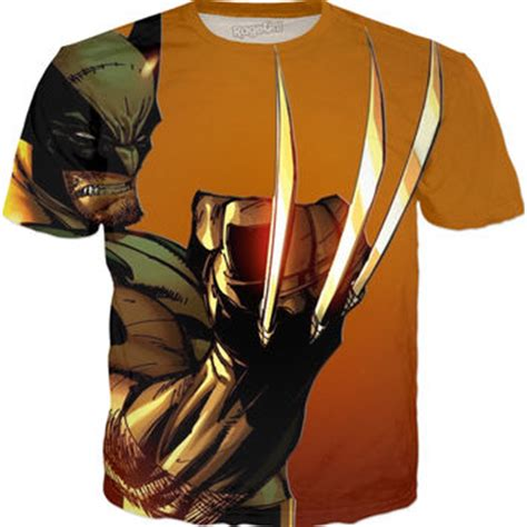 shop wolverine t shirts on wanelo